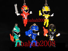 Figurine Keychain Power Rangers opération overdrive BANDAI 2008 série complet