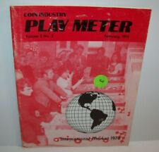Play Meter Magazine Feb 1976 Atari Midway Rock-Ola Allied Early Arcade Games