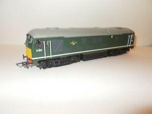 Bachmann Class 24 diesel 32-429 D5011 BR green yellow panels