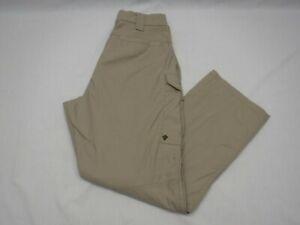 First Tactical Uniform Pant Size 36 X 29 Beige 10 Pocket Reinforced Knee