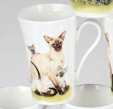 Roy Kirkham Cats Collection Siam Katze Henkelbecher Tasse 0,35 L