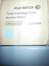 CT201665-Genuine Xerox Docuprint C5005D Genuine Cyan Toner Cartridge-25,000 pgs
