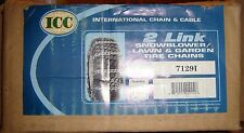 International Chain & Cable Pair of 2-Link Tire Chain ~ 7129i