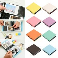 "8Color 3"" 68 Pockets Album Case Photo Boxes For Fujifilm Polaroid Instax Mini"