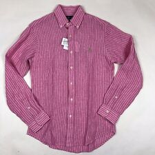 Ralph Lauren LS Linen Shirt SMALL *NEW WITH TAGS* RRP £110