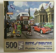 Bits and Pieces 500 Piece Jigsaw Puzzle, Vintage Edinburgh by Kevin Walsh