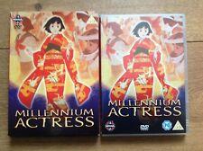 Millennium Actress DVD Japenese Anime Animated