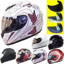 Leopard LEO-819 Bike Full Face Motorcycle Helmet Motorbike Crash HELMET ON ROAD