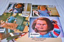 Child's Play 1 JEU D'ENFANT chucky  !  jeu photos chucky  lobby cards horreur