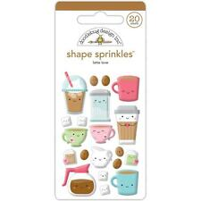 Doodlebug ~ SO PUNNY ~ Shape Sprinkles ~ Sweeties ~ Enamel Dots