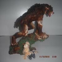 Werewolf Wolfman statue Fenris Fenrir cf. sideshow xm studios lycan SUPER RARE