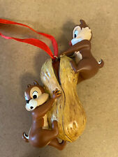 Disney Ornament 2010 - Chip & Dale On Peanut
