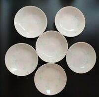 Royal China Celeste Starburst Cream Speckled Background Soup/Cereal Bowl  Lot- 6