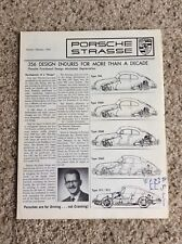 Janu.-Feb. 1967 Porsche strasse newsletter