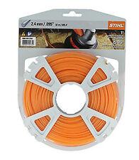 Stihl Cortadora/Recortadora Cable De Línea De Nylon Corte Redondo 2.4mm 86m/280ft