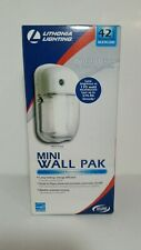 LITHONIA LIGHTING 42 WATT MINI WALL PAK DUSK TO DAWN SECURITY LIGHT BULB