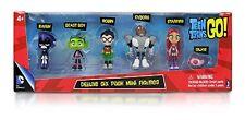 TEEN TITANS GO ! Deluxe Mini Figures Pack (6 figurines)   - New in box