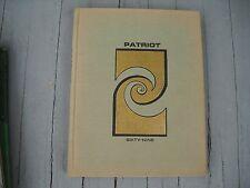 "Vintage 1969 Archbishop Carroll High School Yearbook ""Patriot"" Washington DC"