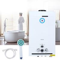12L Warmwasserspeicher Durchlauferhitzer Gas Propan Warmwasserbereiter Samger
