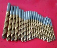 21 St.Spiralbohrer*gebraucht*SL-GU 500(HSCO)*Gühring*d=4,0-11,0mm s.Art.beschrei