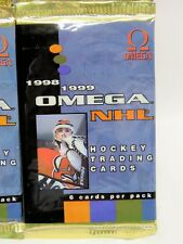 1998-99 Pacific OMEGA NHL HOCKEY Factory-Sealed HOBBY PACK