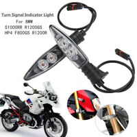 2x Motorcycle LED Turn Signal Indicator Light For BMW S1000RR HP4 F800GS R1200R