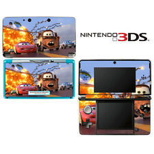 Vinyl Skin Decal Cover for Nintendo 3DS - Racing Cars 2 Lightning McQueen Mater