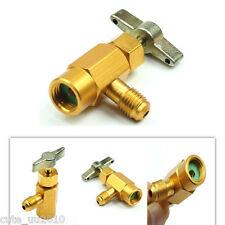 R-134a/R-134 Car AC Refrigerant Brass CAN TAP Dispensing Valve Tool ACME thread