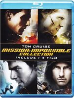MISSION IMPOSSIBLE - LA QUADRILOGIA COLLECTION (4 BLU-RAY) con TOM CRUISE