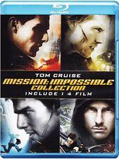 MISSION IMPOSSIBLE - LA QUADRILOGIA COLLECTION (4 BLU-RAY) con TOM CRUISE
