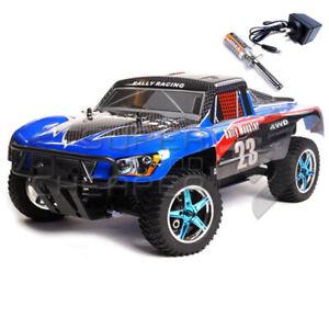 Hsp 2.4Ghz Rc Remote Control Car 1/10 Nitro Gas Destrier Short Course Rally Mons
