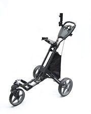 Golf Buggy Push Pull Trolley Lightweight Frame Quick Fold 3 Wheels Stinger SG-3