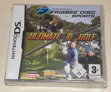 ORIGINAL FRISBEE DISC SPORTS Ultimate Frisbee & Frisbee Golf für Nintendo DS NEU