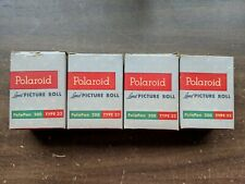 Vtg (4) Sealed boxes Polaroid 200 Type 32 PolaPan Film Unused Land Picture Roll