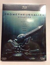PROMETHEUS TO ALIEN EVOLUTION - 5 BLU RAY