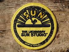 PATCH PATCH aufnaher toppa TERMO-ADESIVO SUN RECORDS presley contanti di perkins