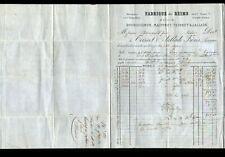 "REIMS (51) MERINOS & FLANELLES / CONFECTION ""TEISSET & JALLADE"" voyagée en 1873"