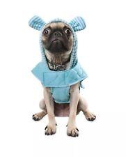 New Bond & Co. Baby Blue Bear Dog Pup Ear Hoodie Mint SZ XXS