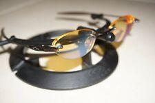 Oakley Spike Titanium Brown Prescription Rx Glasses Japan Frameless 11-802
