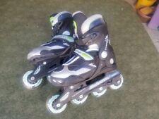 Youth Inline Skates Dynamo Rollerblade Adjustable Sizes 1, 2 & 3 Nr
