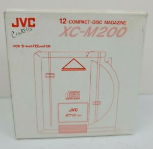 JVC XC-M200 12 Compact Disc CD Changer Magazine Cartridge Stereo - Possibly New
