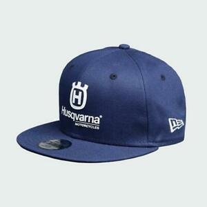 NEW Husqvarna Motorcycle New Era Snapback  Replica Team Hat OSFA