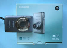 Canon IXUS 115 Titangrau avec Accessoires Paquet comme sac 2gb-sd - Carte LG * c17