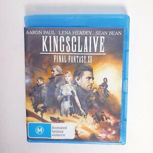 Kingsglaive Final Fantasy XV 15 Movie Bluray Free Postage Blu-ray - Action