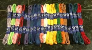 24 Sewing Cross stitch Cotton Mix thread floss skeins assorted color - 7m