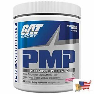 Strength Pmp Peak Muscle Performance Raspberry Lemonade 30 Servings Gat Sport