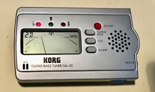 Guitar and Bass Tuner Korg GA-30 GA30 CHROMATIC New in Box