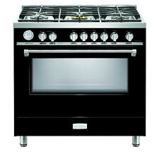 "Verona Designer Series Vdfsgg365Gb 36"" All Gas Range Oven 5 Burner Gloss Black"