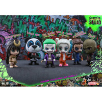 Cosbaby Suicide Squad Series 2 cosbaby Collectible Set of 6 Hot Toys