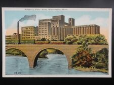 USA MINNEAPOLIS Pilisbury Flour Mills - Old Postcard by Co-Mo Co.